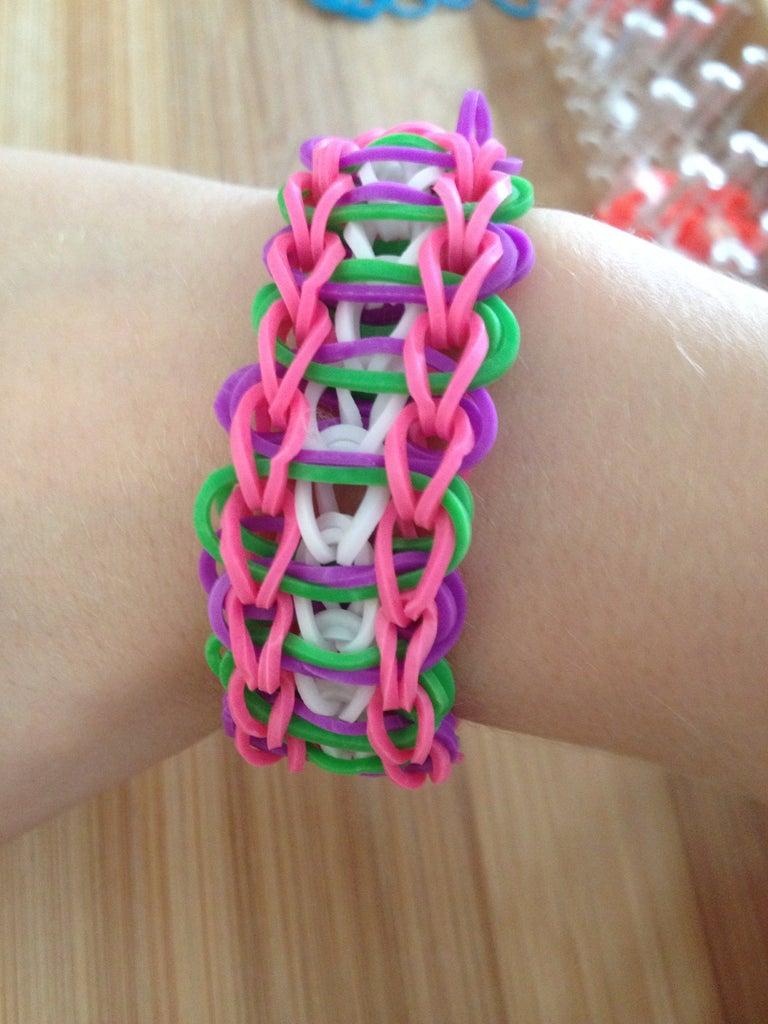 Finishing the Bracelet