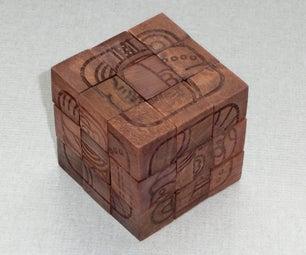 Mayan Rubik's Treasure Box