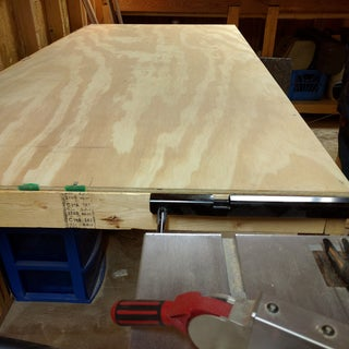 Fold Down Work Table for X-Carve CNC Machine