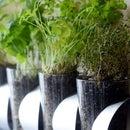 Wall-Mounted Herb Planter IKEA Hack