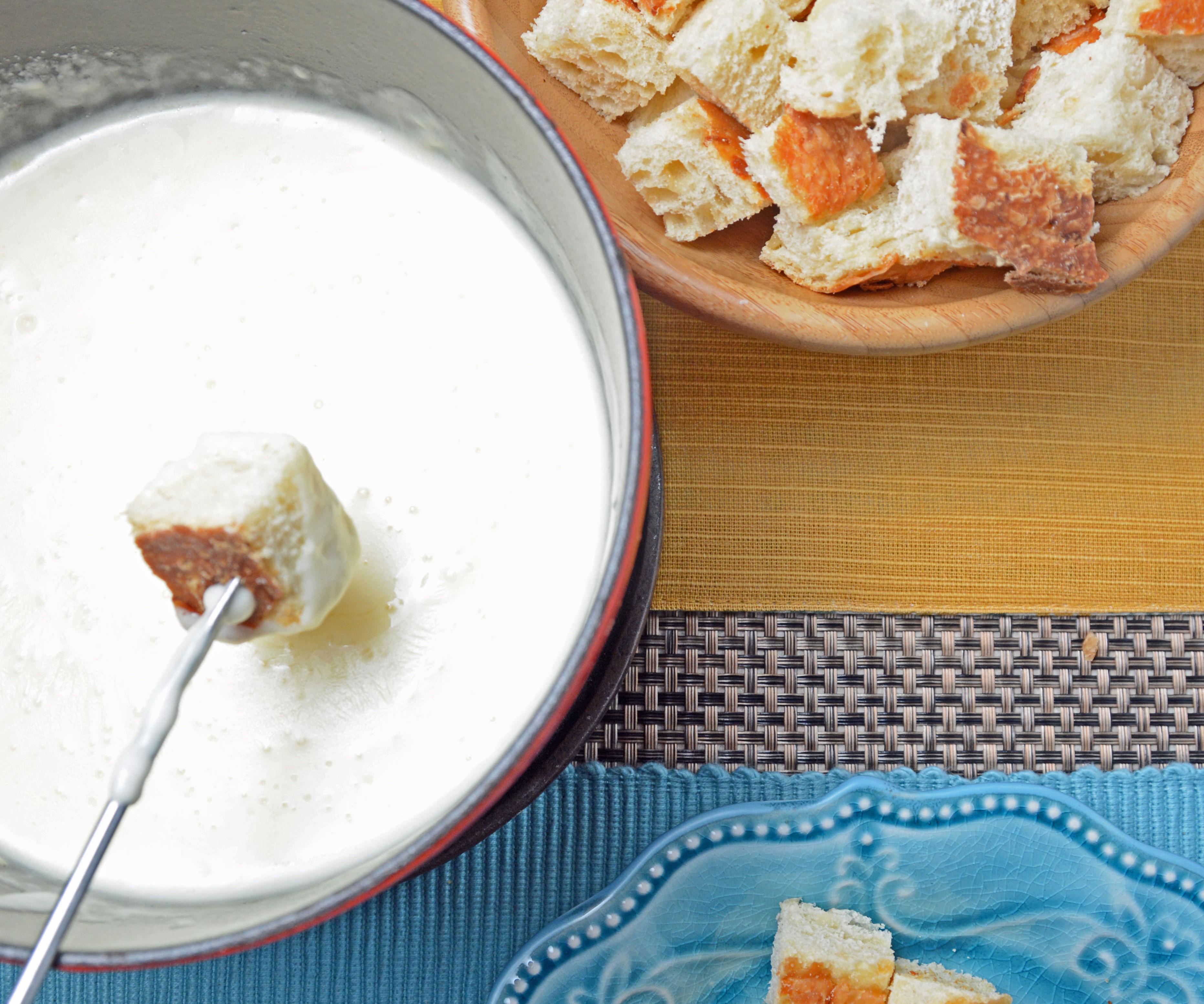 Easy Way to Make Cheese Fondue