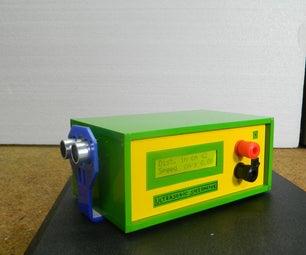 Speed Measurement Using HC-SR04 Ultrasonic Sensor and Arduino