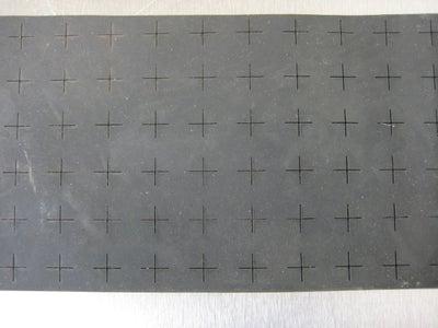 Laser Cut the Santoprene and Glue It On