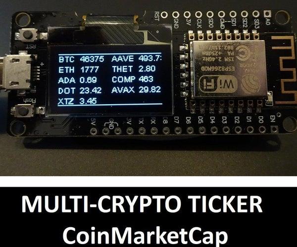 Multi-Crypto Ticker: CoinMarketCap