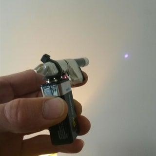 Blu-Ray Laser Phaser!