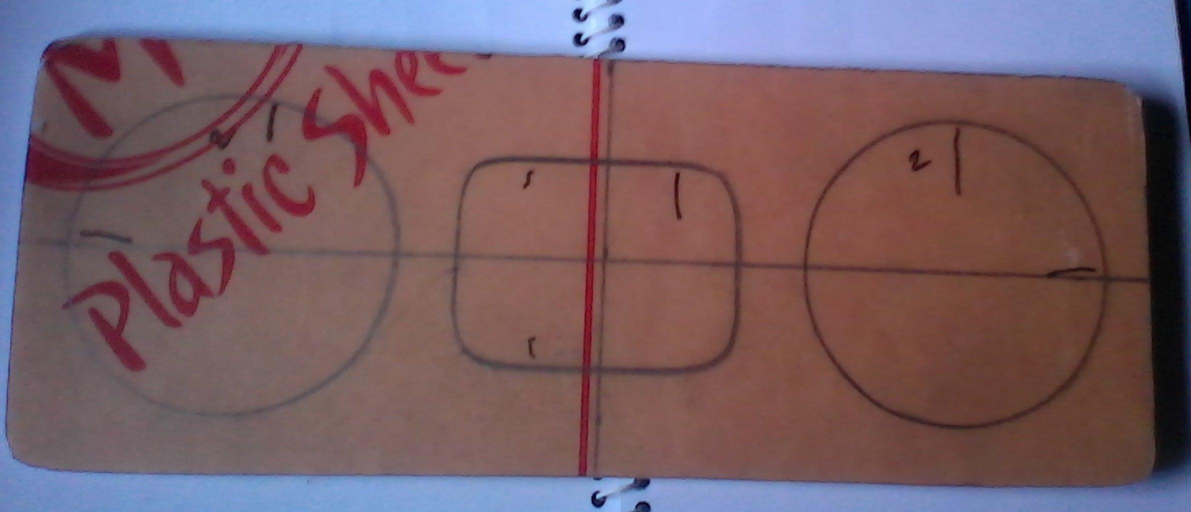 Take Measurement of Acrylic Board