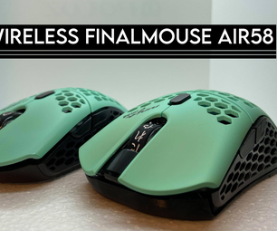 Wireless Finalmouse Air58 Guide - G305