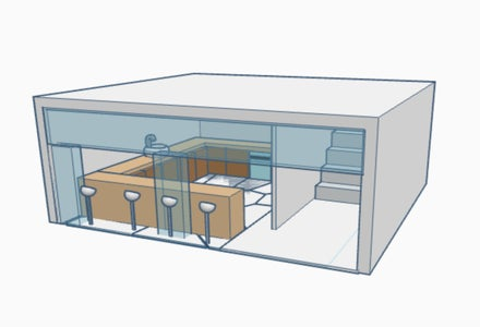 Making the Exterior of Kitchen