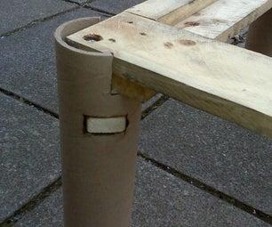 Cardboard Tube Legs
