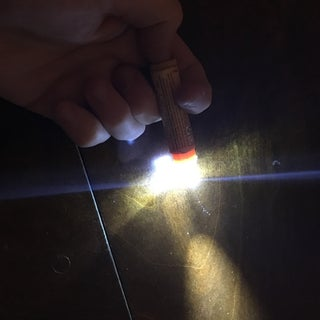 ChapStick LED Flashlight