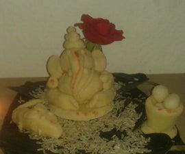 Salt Dough Lord Ganesha