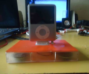Support and Audio Amplifier for Ipod 3G