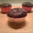 3 Ingredient ChocoBanana Peanut Butter Muffins
