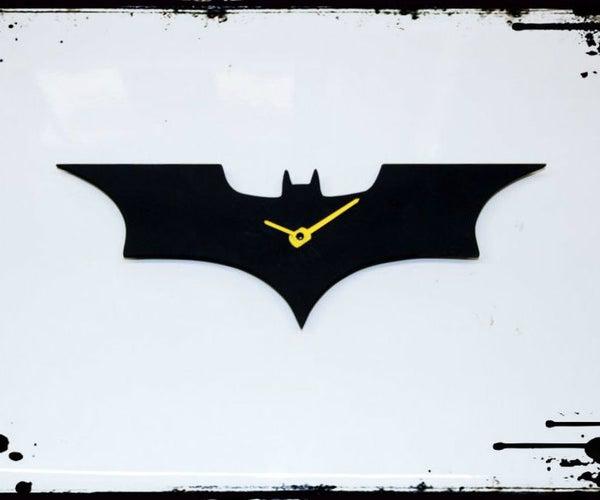 Dark Knight Wall Clock
