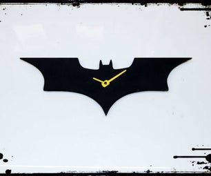 Dark Knight Wall Clock