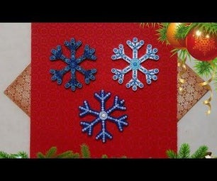 How to Dot Paint Christmas Ornaments - Snowflake Christmas Ornament DIY