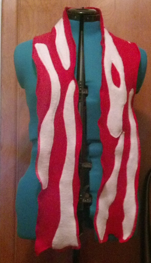 Bacon Scarf: Step by Step