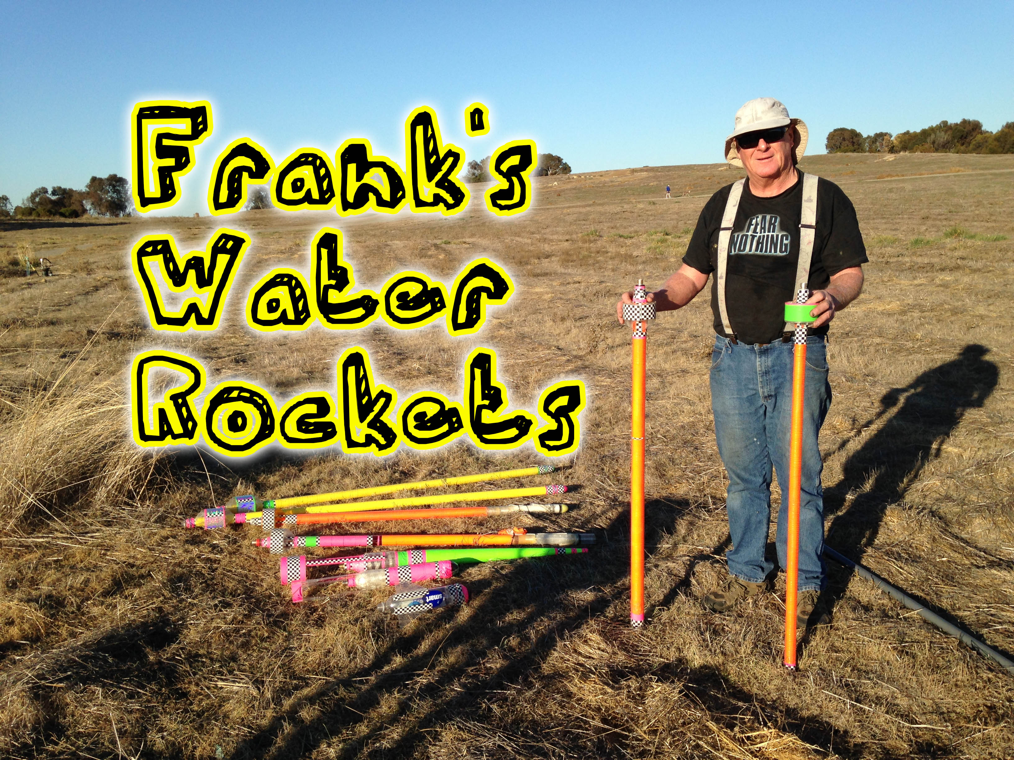 Frank's Water Rocket Overview and Demonstration