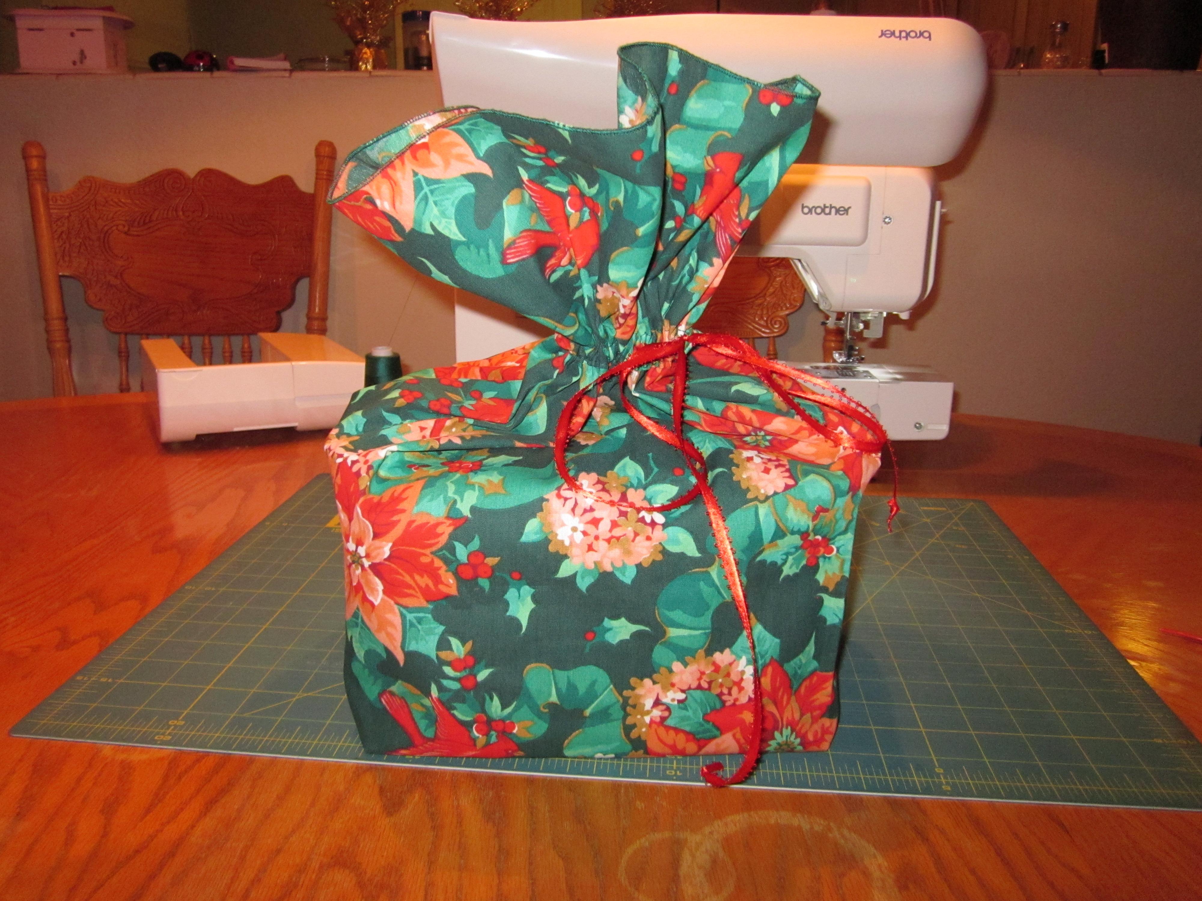 How to make a drawstring fabric bag