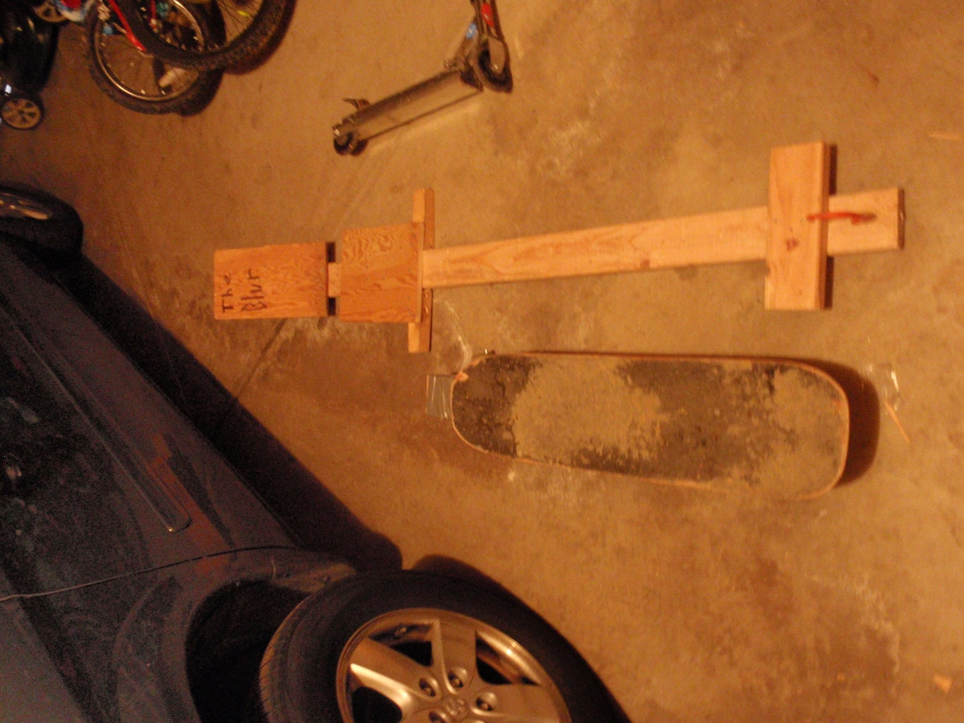 Street Luge (with New Modifications)