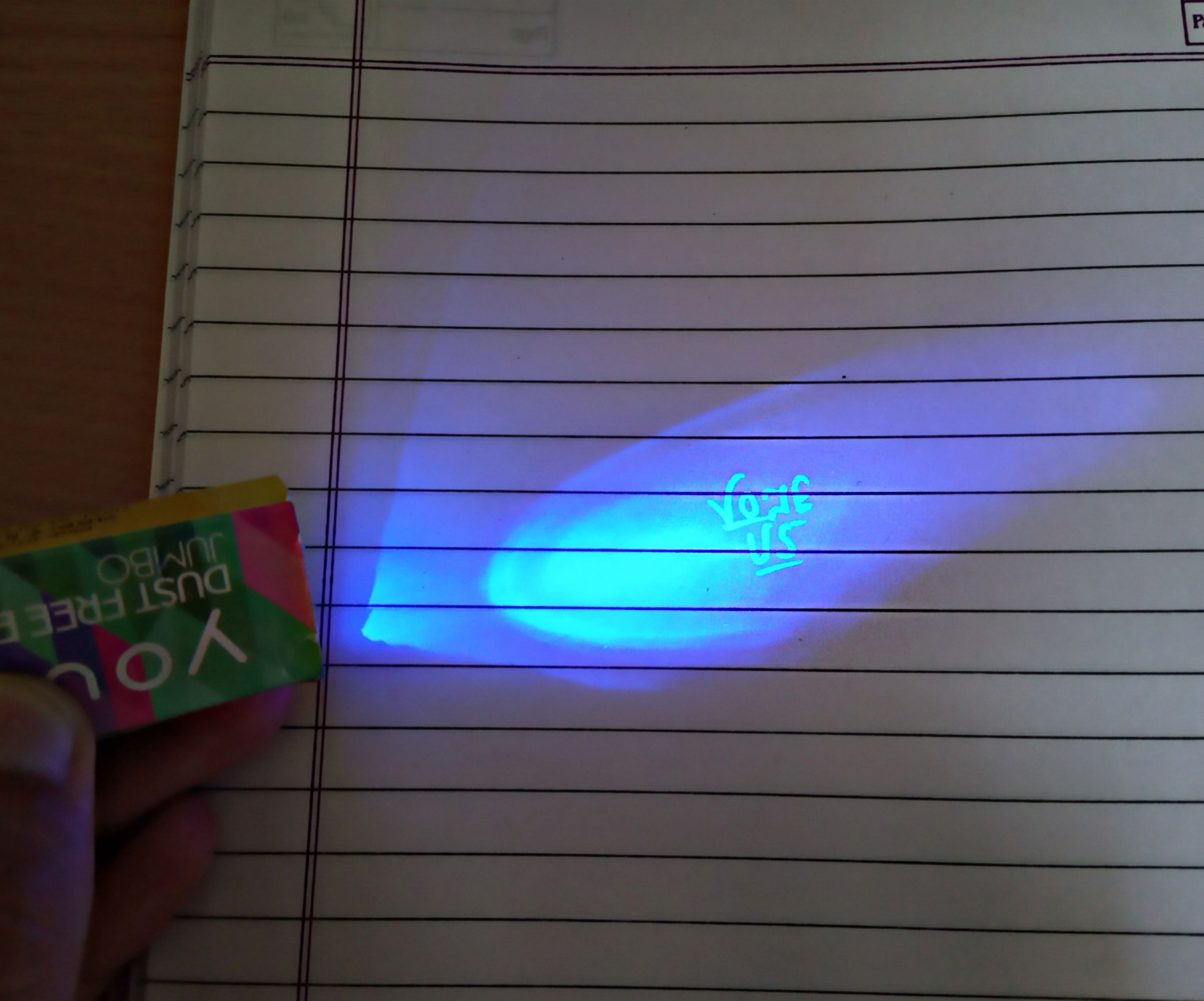 Awesome Spy Gadget! Invisible Ink Pen Hack