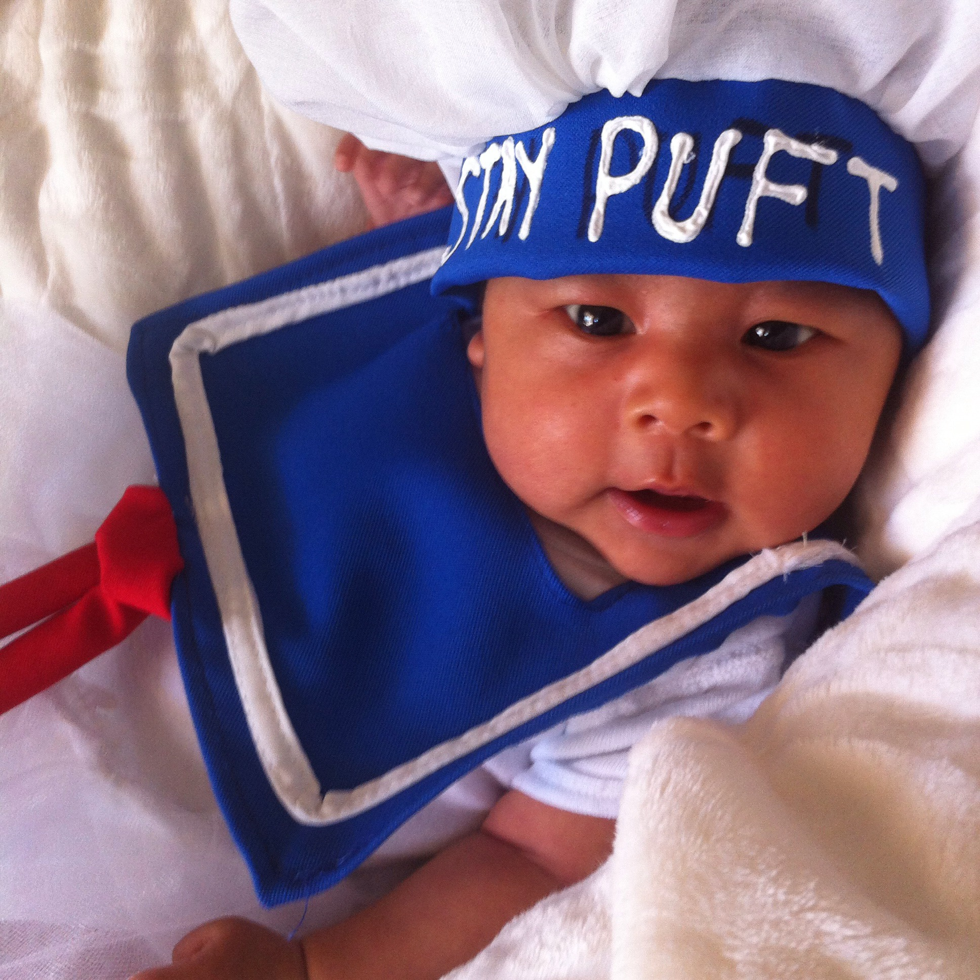 Stay Puft Marshmallow Baby