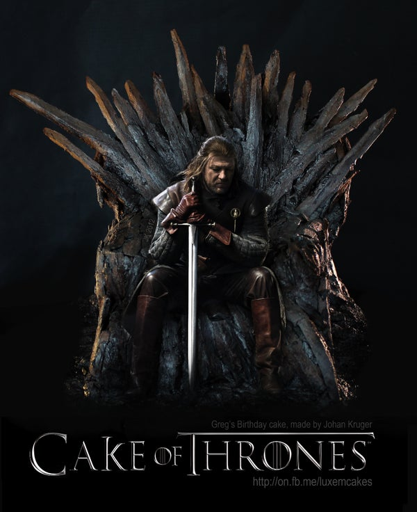 Cake of Thrones, Game of Thrones Cake.