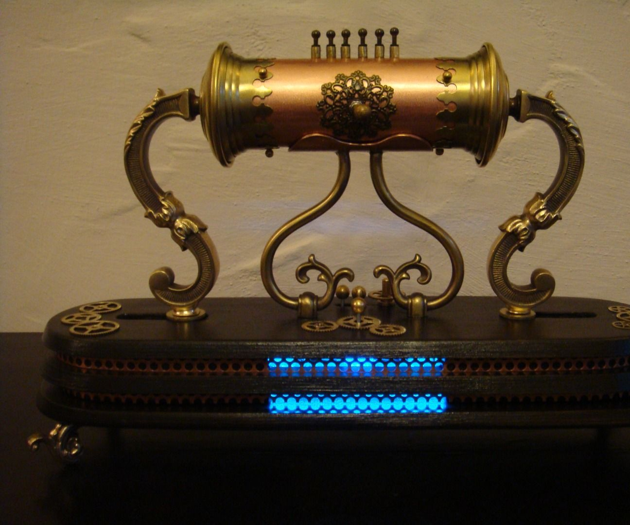 The Victorian Sound-Tube...A Steampunk Mp3 Player