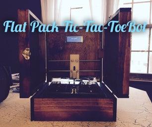 Flat Pack Tic-Tac-ToeBot