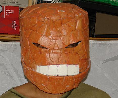Fantastic Four Smiling Thing Helmet