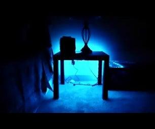Glowing Furniture: RGB LED Strip + IKEA Side Table Hack