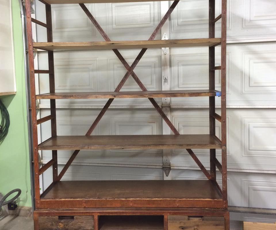 Industrial Shelving Unit