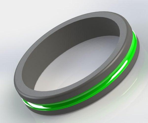 CyberPunk Glow Ring