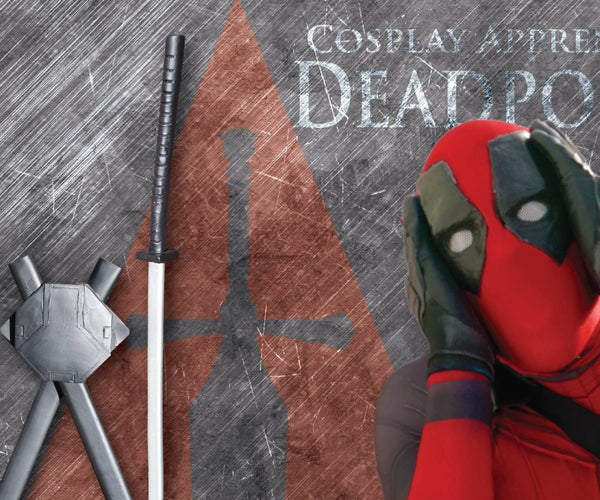 How to Make Deadpool Costume - Deadpool's Swords and Back Sheath