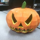 Spooky 3D Jack o' Lantern