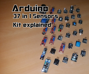 Arduino | 37 in 1 Sensors Kit Explained