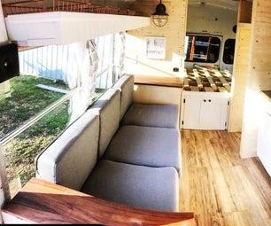 小公共汽车房子
