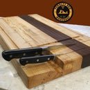 The Ultimate Cutting Board With Knife Storage - DIY