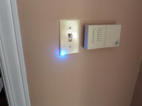 DIY Deadbolt and Garage Door Sensor LED