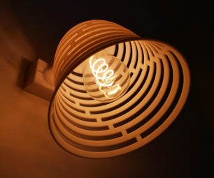 设计和3D打印现代而舒适的阅读灯!