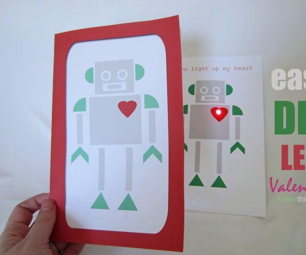Easy DIY Robot Valentines