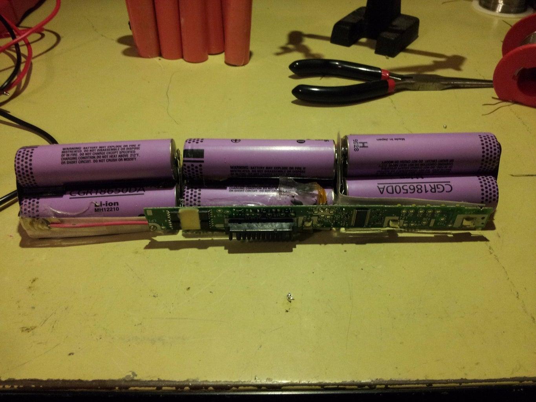 Soldering in New Batteries