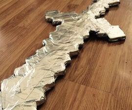 Cardboard and Duck Tape Sword