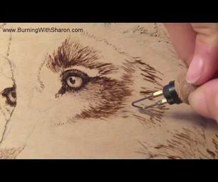 Pyrography: Burning Techniques for Wolf Fur