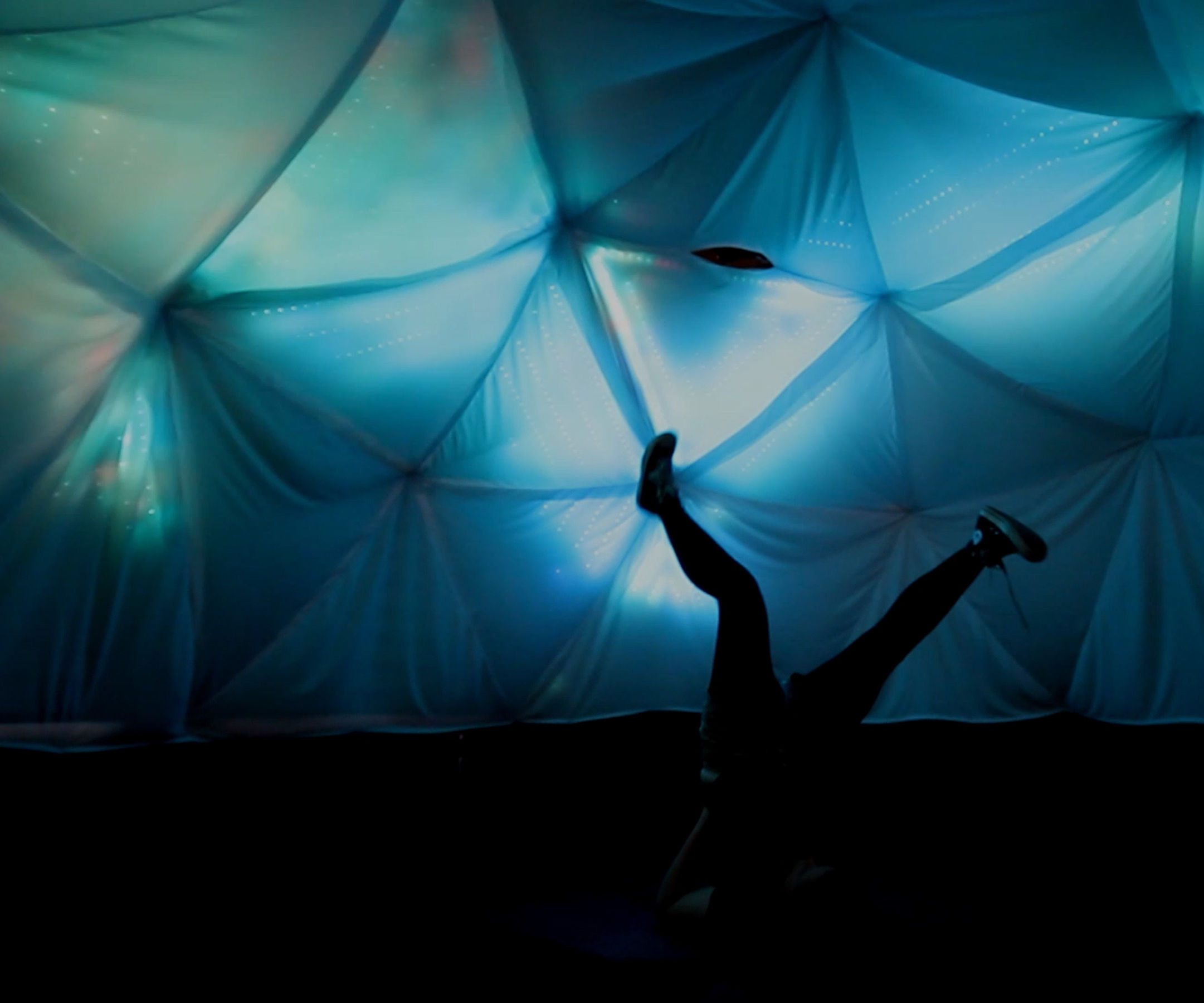 Interactive LED Dome With Fadecandy, Processing and Kinect