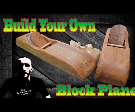 How to make a wooden block plane