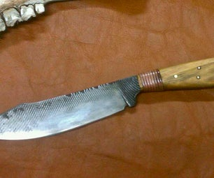 Forging My 2013 Knife Dog's Neo-Tribal KITH Knife Entry...