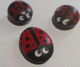 How to Paint a Cute, Decorative Ladybug