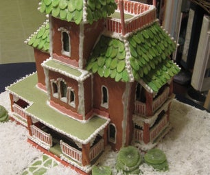 Painted Lady Gingerbread House