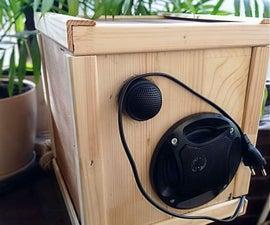 Diy Stationary Bookshelf Bluetooth Speaker